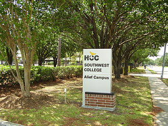 Alief, Houston - HCC Alief Campus in Westchase