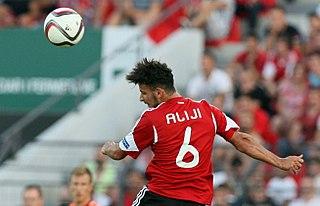 Naser Aliji Albanian footballer