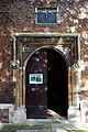 All Hallows Church Tottenham Haringey England - porch door portal.jpg