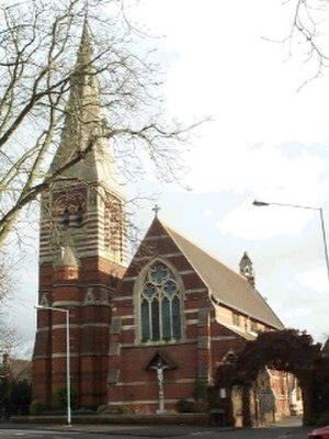 Maidenhead - Classic Victorian architecture—All Saints' Church, Boyne Hill