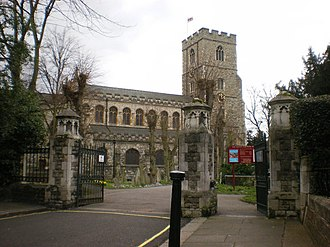 All Saints Church, Fulham - Image: All Saints Church, Fulham geograph.org.uk 1576672