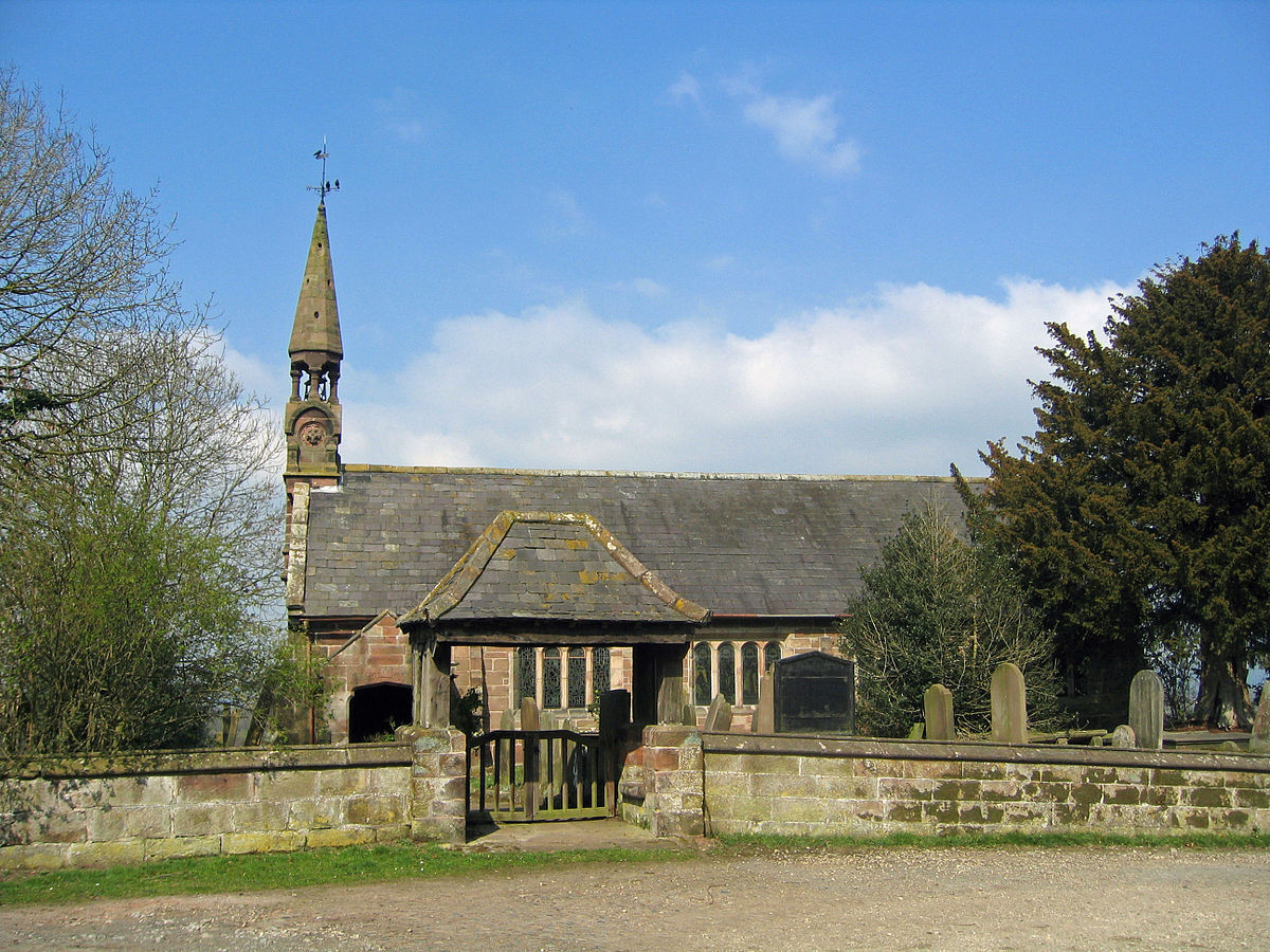 Listed Buildings In Church Lawton Uk