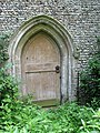 All Saints Church - the west doorway - geograph.org.uk - 1398971.jpg