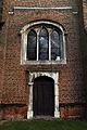All Saints Theydon Garnon tower west door and window (Canon 6D).jpg