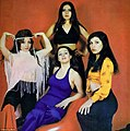 All all-female Iranian pop group posed for promo shots ahead of a tour in 1974.jpg