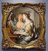 Allegory of Music, by Jean-Francois de Troy, 1733, oil on canvas - Portland Art Museum - Portland, Oregon - DSC09066.jpg