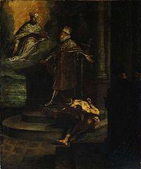 Allegorische Darstellung der Stiftung des Jesuitenordens