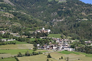 Allein - Panorama of Allein