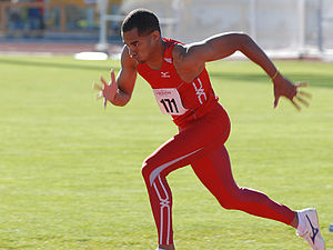 2015 NACAC Championships in Athletics - Allen Simms took triple jump silver for Puerto Rico.