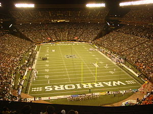 Hawaii Rainbow Warriors football - Image: Aloha Stadium, Hawaii