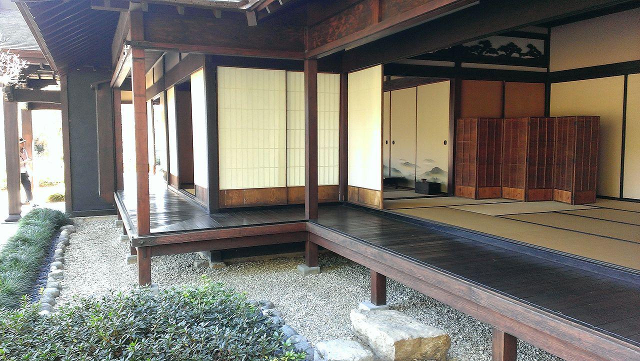 file alternate detail of traditional japanese home at japanese garden huntington library art. Black Bedroom Furniture Sets. Home Design Ideas
