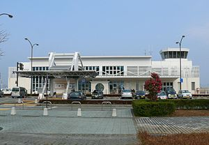 Amakusa Airfield - Amakusa Airfield terminal building