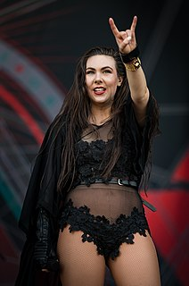 Elize Ryd Swedish heavy metal singer
