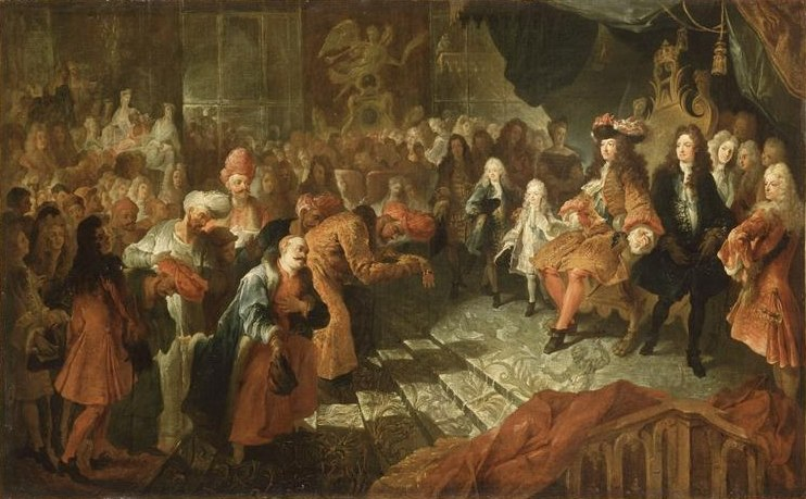 Ambassade Perse aupr%C3%A8s de Louis XIV