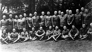 American Expeditionary Forces major formation of the United States Army in the Western Front of World War I