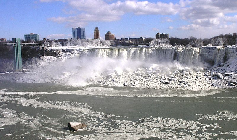 Niagara falls, from the Canadian side