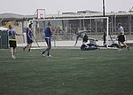 American and Bosnian soldiers play friendly soccer match in Kandahar; follow up with US vs. Bosnia-Herzegovina game 130814-A-IX573-168.jpg