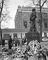 Amsterdam. De Minister van Buitenlandse Zaken van Israel, mevrouw Golda Meir, le, Bestanddeelnr 916-1025.jpg