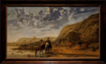 Amsterdam - Rijksmuseum 1885 - The Gallery of Honour (1st Floor) - River Landscape with Riders c. 1655 by Aelbert Cuyp.png