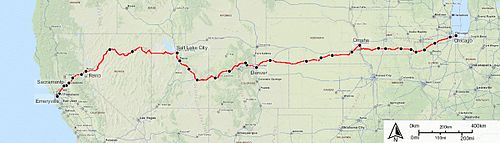 California Zephyr Wikipedia - Amtrak map of routes in us