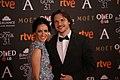 Ana Turpin and Carlos Castell at Premios Goya 2017.jpg
