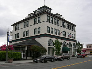 Skagit County, Washington - Majestic Inn, Anacortes, Washington.