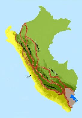 Cordillera Central Perú Wikipedia La Enciclopedia Libre