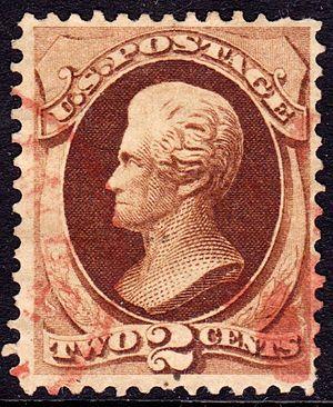 Administrative discretion - Image: Andrew Jackson 1873 Issue 2c