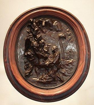 Angelo de Rossi - Image: Angelo de Rossi relief