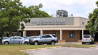 Ann Richards School for Young Women Leaders - School building