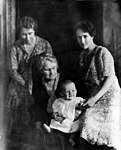 Anne Lindbergh and son Charles Jr, mother, and grandmother cph.3b19303u.jpg