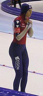 Annette Gerritsen Dutch speed skater