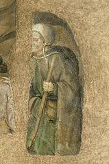 Pèlerinage au tombeau de sainte Catherine, un pèlerin