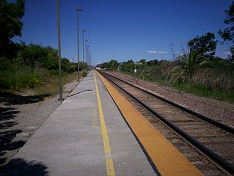 Antioch–Pittsburg station - Image: Antioch California Amtrak Station 1