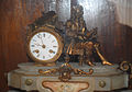 Antique clock in Bikaner fort museum.jpg