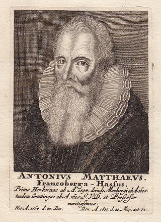 Anton Matthäus (1564–1637)