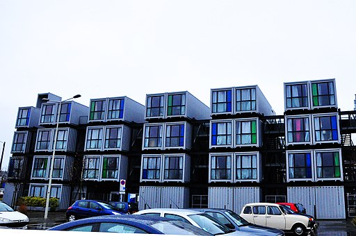 Apartments buildings for students, Le Havre, 2014