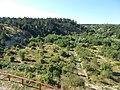 Aranyos Valley from Jutas lookout, Veszprém, 2016 Hungary.jpg