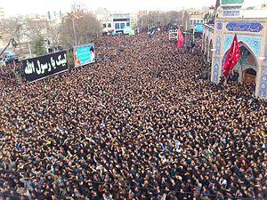 Muharram - Muharram in Ardabil.