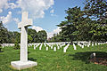 Argonne Cross - rear - Arlington National Cemetery - 2011.JPG