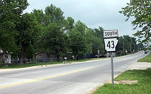 Arkansas Highway 43 - The segment of AR 43 known as Cheri Whitlock Drive was formerly Arkansas Highway 204 until the mid-1990s.