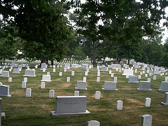 The Contender (2000 film) - Arlington National Cemetery in Virginia was recreated in the film.