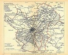 Aachen Karte Stadtteile.Aachen Wikipedia