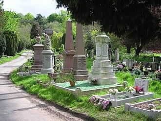 Arnos Vale Cemetery - General view
