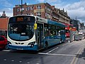 Arriva bus 1413 VDL Bus SB200 Wrightbus Pulsar II NK09 BRX in Newcastle upon Tyne 9 May 2009.jpg