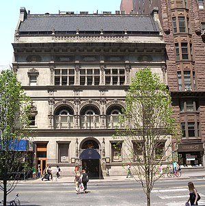 Art Students League of New York - Fine Arts Building on West 57th, May, 2009