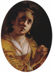 Allegory of painting (oval)