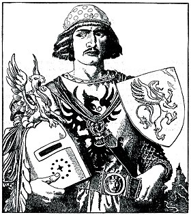 Arthur-Pyle Sir Gawaine the Son of Lot, King of Orkney.JPG