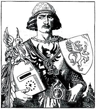 the true hero sir gawain Sir gawain green knight essays - a true hero in the poem, sir gawain and the green knight.