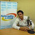 Arturo Carrion J. en Teleradio de Guayaquil.jpg